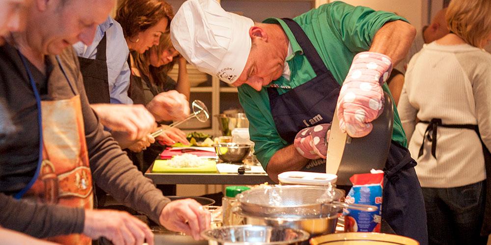 Kook workshop voor fijnproevers - in actie