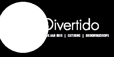 Divertido logo liggend