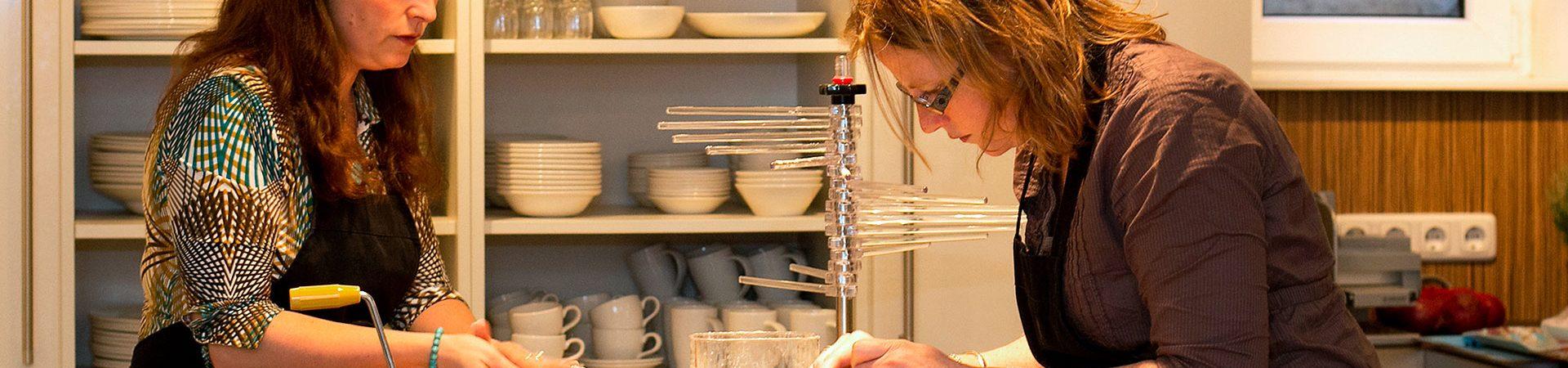 Gezellige kookworkshop voor fijnproevers